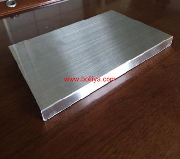Hairline Stainless Steel Honeycomb Panel ( Brushed Finish)