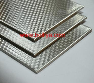 Stainless Steel Composite Material 4mm (Diamond Finish)