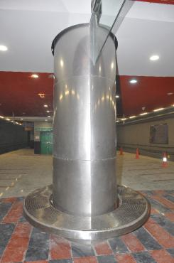 Bolliya Stainless Steel Pillar Cladding Composite Panel